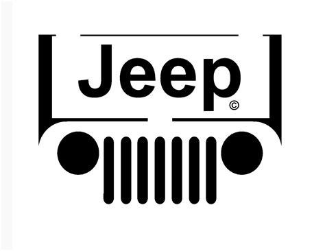 logo jeep vector pumpkin carving jackolantern stencils truck and jeep