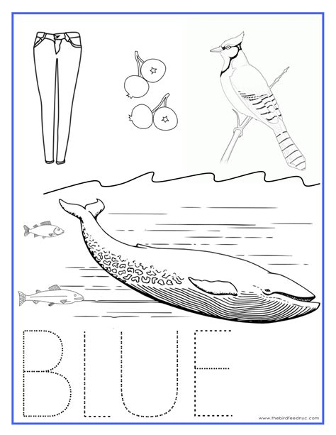 Free Coloring Pages Of Blue Worksheets Blue Coloring Page