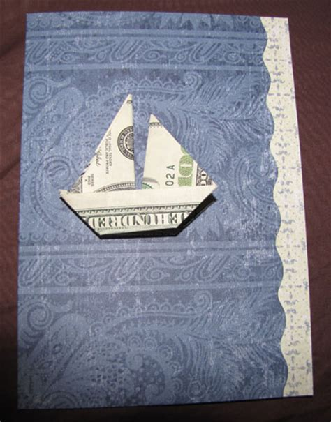Money Origami Boat - money origami boat