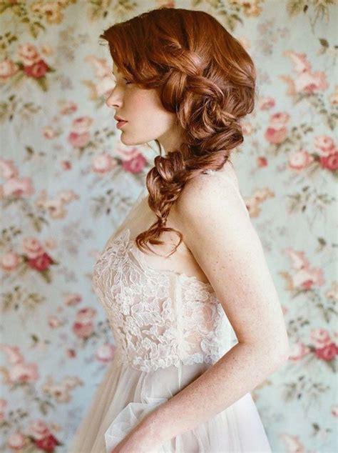 giving boy feminine braids wedding hair inspiration 32 fresh feminine bridal
