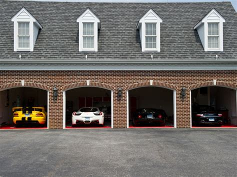 car garages ever wondered where billionaires park their supercars