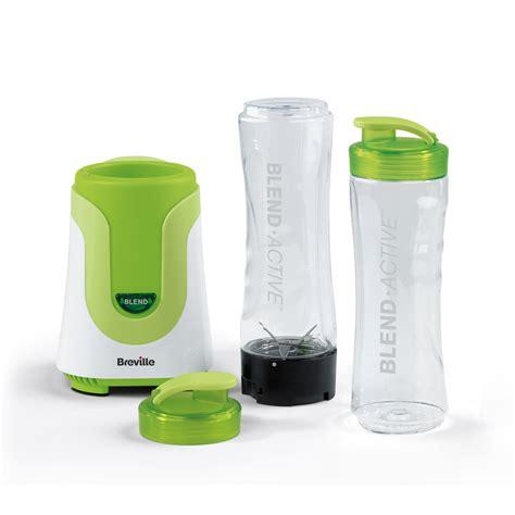 Blender Blended breville blend active personal blender vbl062 1 bottle green