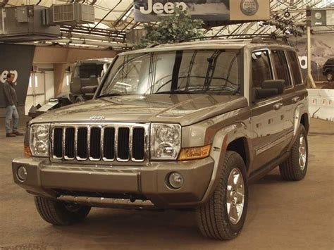 Jeep Commander Reliability 2006 2006 Jeep Commander Pictures Photos Gallery The Car