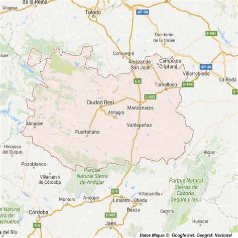 mapa de carreteras de asturias tama 241 o provincias de espa a mapa de carreteras callejeros mapa de ciudad real provincia y pueblos 54