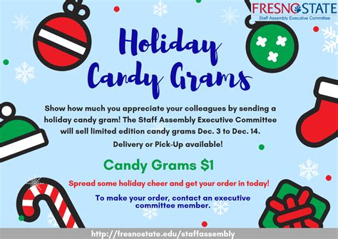 fresno state campus news holiday candy grams
