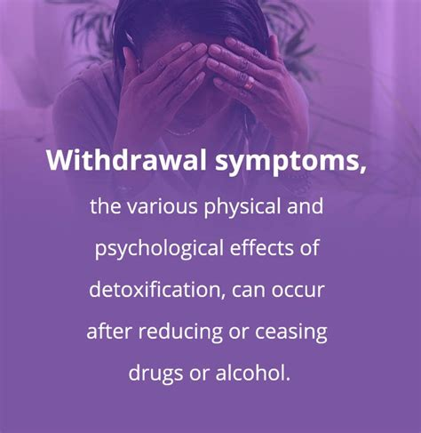 Detoxing After Drugs by Withdrawal Symptoms Of And Drugs Managing Side
