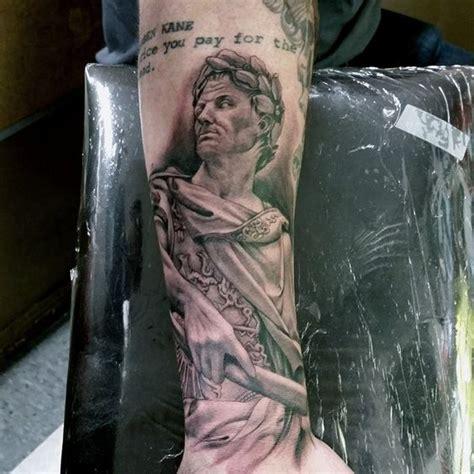 julius caesar tattoo grey julius caesar and ink on