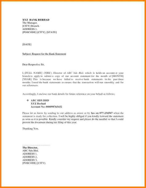 Bank Manager Letter Format Sle Request Letter To A Bank Manager