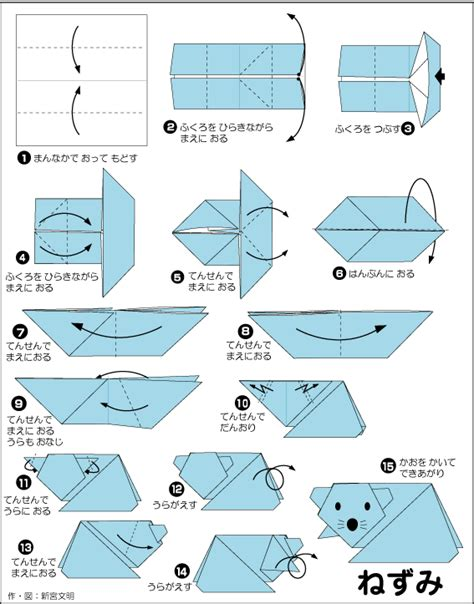 Origami Polar - extremegami how to make a origami polar