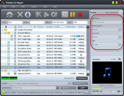 format cd software how to rip cd to mp3 tips of how to convert cd to mp3