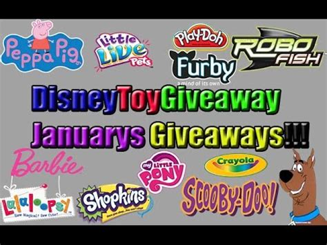 Free Toy Giveaways - this months disney toys giveaway free toy giveaway youtube