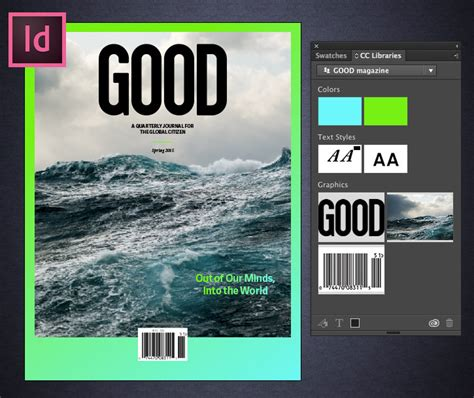 magazine layout indesign cc turn a comp cc layout into a magazine cover in indesign