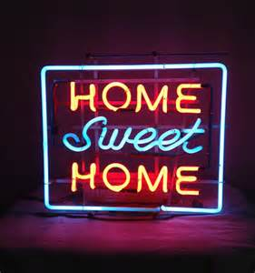 vintage neon sign home sweet home collectors weekly