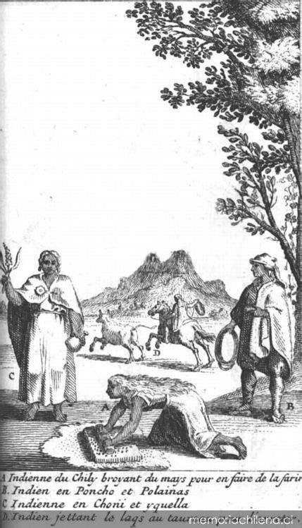 Indios de Chile, hacia 1713 - Memoria Chilena, Biblioteca