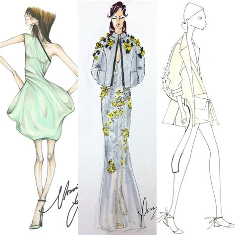 lowongan kerja fashion design 2015 designer sketches from new york fashion week spring 2015