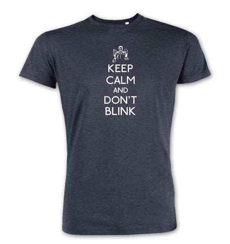 Kaos Keep Calm Minecraft Tshirt T Shirt T Shirt keep calm and don t blink premium t shirt somethinggeeky