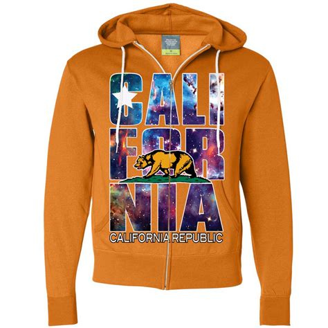 design logo hoodie california republic cosmic state flag logo design in space