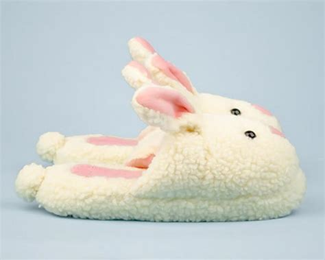 rabbit slippers for adults pink bunny slippers images