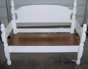 four poster headboard bench easy my repurposed 174