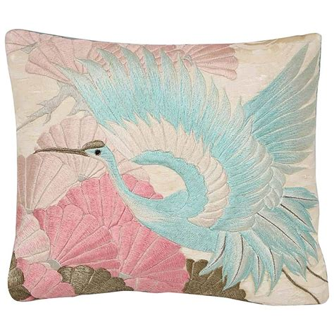 Embroidered Pillows 1920s Embroidered Pillow At 1stdibs