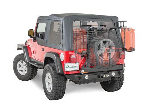 jeep trail rack lod jtk9601 signature series trail rack for 97 06 jeep