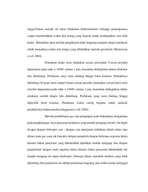 contoh laporan gravimetri laporan praktikum analisis gravimetri