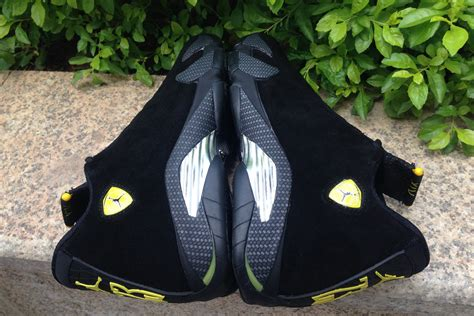 2017 air 14 black and vibrant yellow