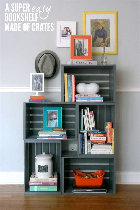 10 easy diy bookshelves you can build at home