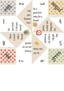 Fortune Teller Paper Craft - free paper fortune teller printable templates fortune