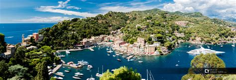 hotel porto fino portofino bird s eye view of the bay