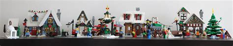 christmas village sets image gallery lego christmas village