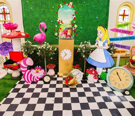 theme line alice in wonderland alice in wonderland party feature lifes little celebration