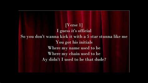 lyrics mindless behavior mindless behavior used to be lyrics