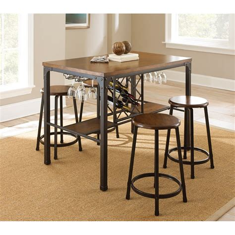 Bar Height Bistro Table Trent Design Rockwood Counter Height Pub Table Set Reviews Wayfair