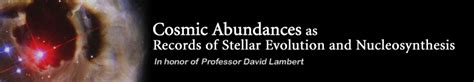 Cosmic Abundances As Records Of Stellar Evolution And Nucleosynthesis by Cosmic Abundances