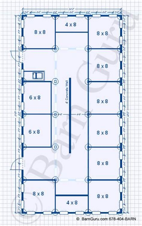 dog kennel plans design floor plan