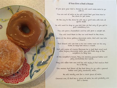 if you give a a donut if you give a a donut poem gluten free donuts are great from kinnikinnick