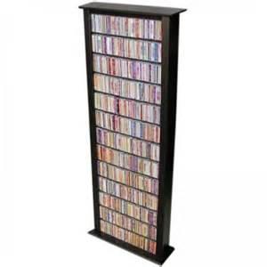 venture horizon 76 quot cd dvd wall media storage rack