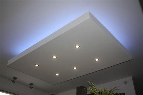 Eclairage Plafond Salon by Cuisine Nouvel Article Eclairage Led Indirect Sur Faux