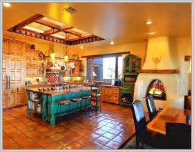 Southwestern Style Homes mexican themed kitchen decor home design ideas