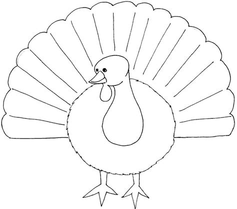 turkey coloring page by number printable free thanksgiving turkey colouring pages for