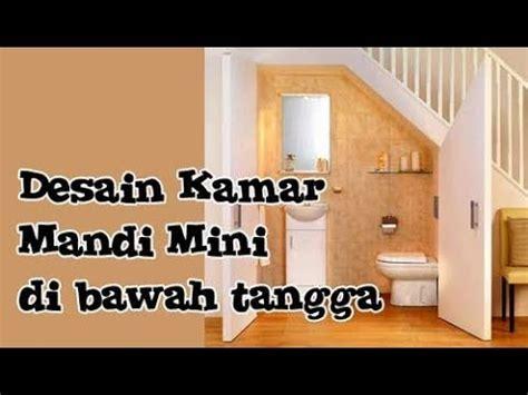 desain kamar mandi bawah tangga minimalis desain kamar mandi minimalis ukuran kecil 2x2 di bawah