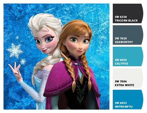 17 best images about references disney frozen on disney paint colors and elsa