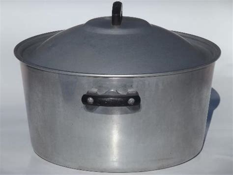 Oven Aluminium Hock No 2 vintage wear aluminum oven or c kettle 8 qt pot