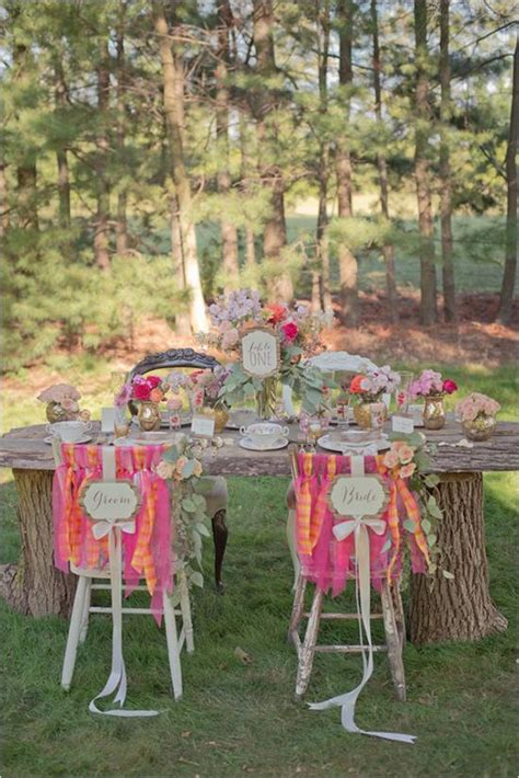 rustic shabby chic outdoor wedding ideas weddbook