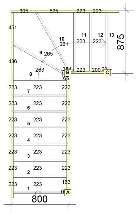 staircase width tkstairs advise on domestic building regulations