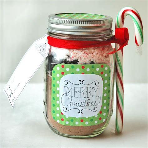 teacher gifts in a jar these hot chocolate in a jar