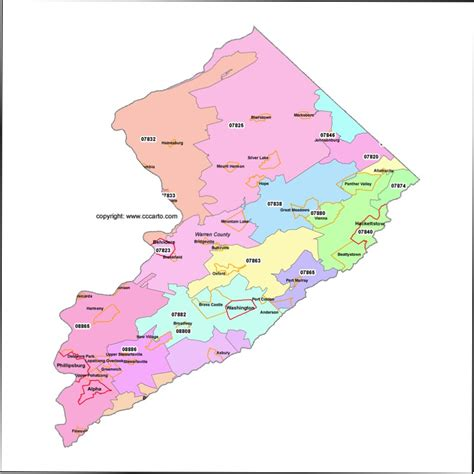 zip code map nj ocean county new jersey zip code map bing images