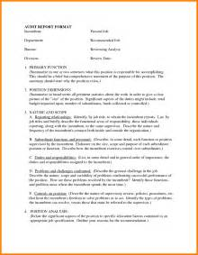 Sample Report Format For Students 8 Business Report Example For Students Buyer Resume