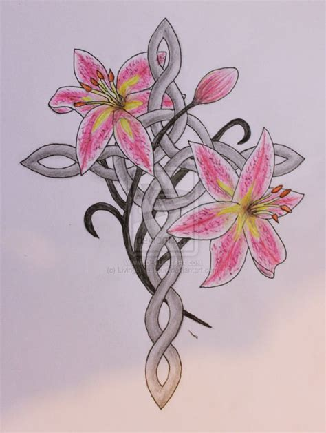 cross with flowers tattoos 1000 ideas about design on